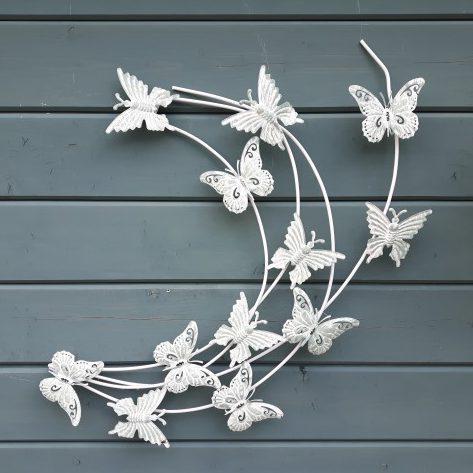 wanddecoratie vlinders klein stoer in wonen